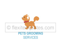 Logo Templates pet care services