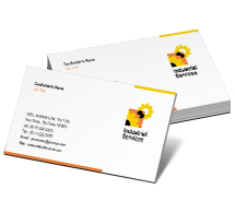 Business Card Templates industrial safety
