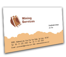 Industrial Industrial Safety BusinessCardTemplates