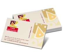Business Card Templates pizza restaurant