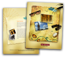 Tours & Travel International Travel brochure-templates