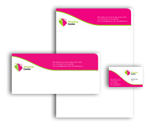 Corporate Identity Templates shoping centre