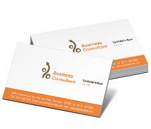 Business Card Templates finance and investment planner
