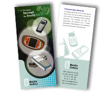 Brochure Templates Communications Mobile Handsets