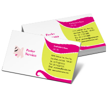 Fashion Fashion Hair Salon business-card-templates