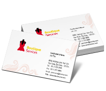 Business Card Templates brand fashion