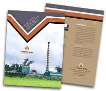 Brochure Templates industrial factory