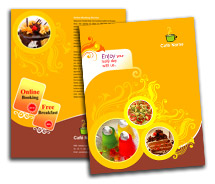Brochure Templates bar and grill