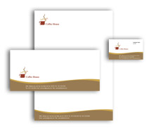 Corporate Identity Templates coffee shop