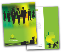 Brochure Templates corporate finance