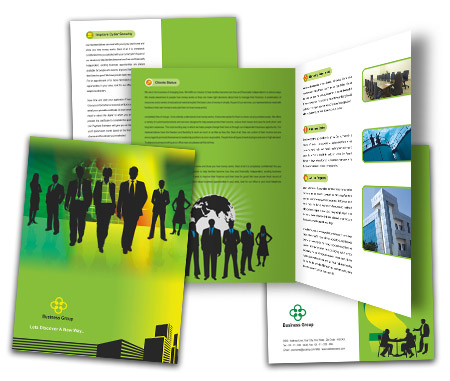 Complete Brochure  View with Layout For Corporate Finance