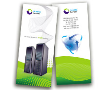 BrochureTemplates Computers Domain Hosting Services Two Fold