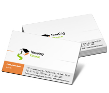 Business Card Templates real estate finance