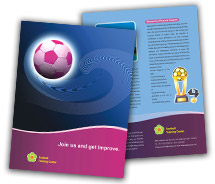 Brochure Templates football club
