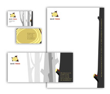 Corporate Identity Templates earth tree
