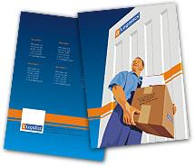 Logistics Logistics Companies brochure-templates