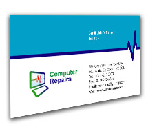 Business Card Templates Computers Dealer