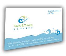 Business Card Templates Adventure Tours