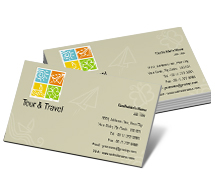 Business Card Templates tours travel