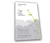 Business Card Templates Nursery Products
