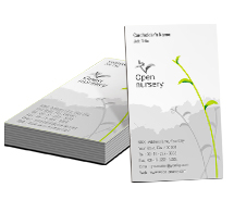 Business Card Templates Nature Nursery Products